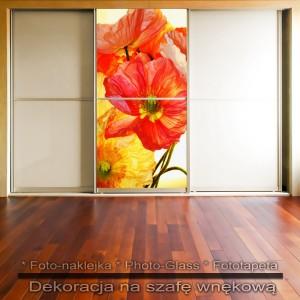 Kwiatowiec - dekoracja na szafę