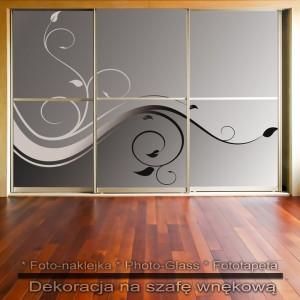 Pnączak - dekoracja na szafę