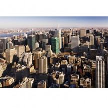 Fototapeta New York - widok z lotu ptaka