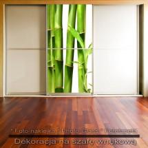 Bambo- dekoracja na szafę