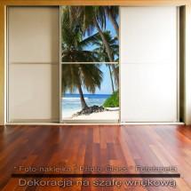 Na horyzoncie- dekoracja na szafę