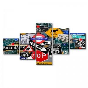 Znaki drogowe - obraz z wielu części nr 2912