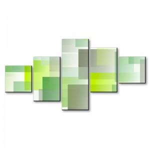 Geometryczne kwadraty - obraz z wielu części nr 2919