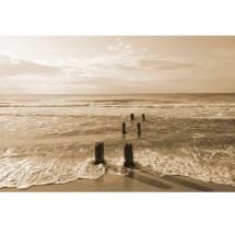 Fototapeta na ścianę morze - sepia