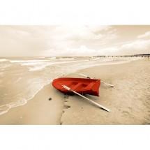 Fototapeta morze łódź plaża
