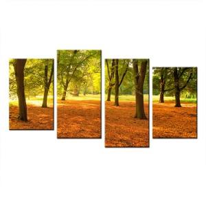 Obraz wieloczęściowy Park nr 10010