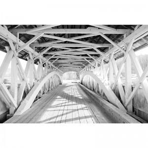 Fototapeta Drewniany most