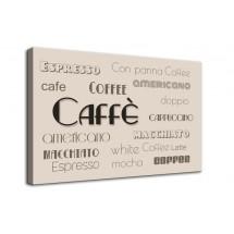 Ozdoba ściany w formie obrazu kawa