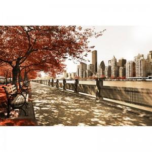 Fototapeta Promenada nad Hudson