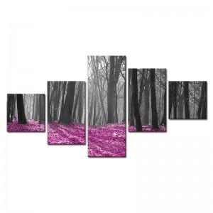 Obraz wieloczęściowy Drzewa nr 2921