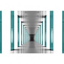 Fototapeta turkusowy tunel - Elite