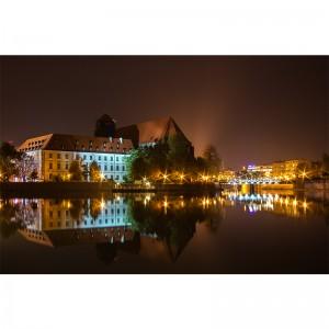 Fototapeta Wrocław Noc | do sypialni