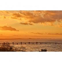 Fototapeta morze - zachód słońca