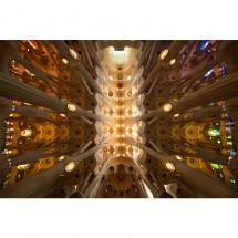 Fototapeta Sagrada Familia - sklepienie