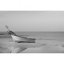 Fototapeta łódka na plaży