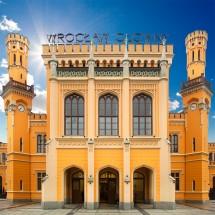 Fototapeta dworzec główny pkp we Wrocławiu