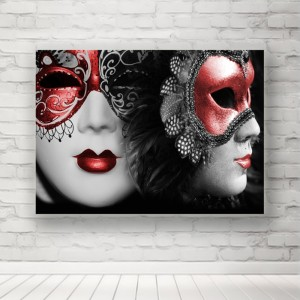 Plakat Maska Wenecka