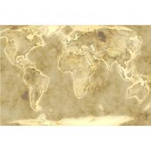 Fototapeta fizyczna mapa świata