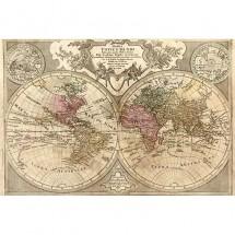 Fototapeta stara mapa