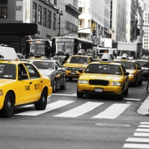 Fototapeta taksówki Nowy Jork