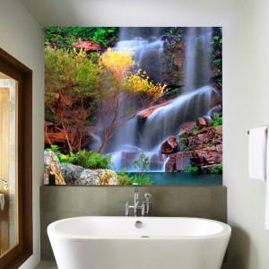 Fototapeta z wodospadem