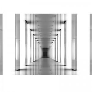 Fototapeta czarno biała - Tunel