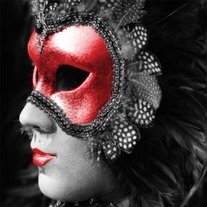 Fototapeta męska maska karnawałowa