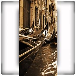 Fototapeta Gondole na wąską ścianę