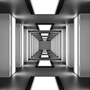 Fototapeta głębia tunelu