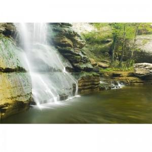 Fototapeta wodospad | skały