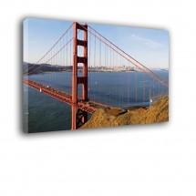 Ozdoba ściany w formie obrazu Golden Gate nr 2133