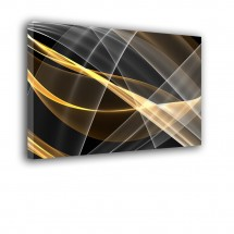 Obraz nowoczesny złota abstrakcja nr 2416