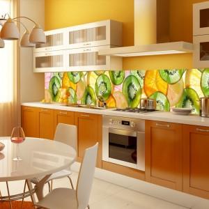 Fototapeta do kuchni z kiwi