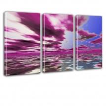 Obraz - tryptyk - chmury nr 2627