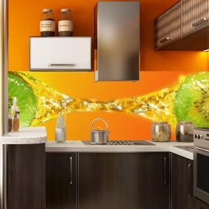 Fototapeta do kuchni w pomarańczach