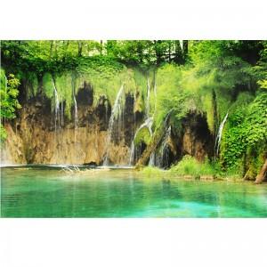 Fototapeta wodospad | Jezioro