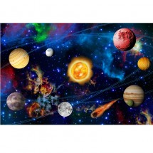 Fototapeta kosmos planety