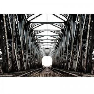 Fototapeta most kolejowy