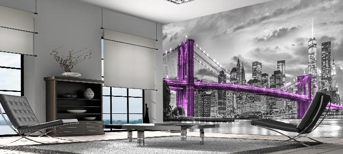 Fototapeta Nowy Jork czarno biała