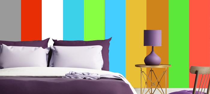 Jaka fototapeta do fioletowej sypialni