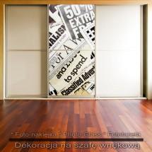 Gazetowiec - dekoracja na szafę