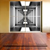 Korytarz - dekoracja na szafę
