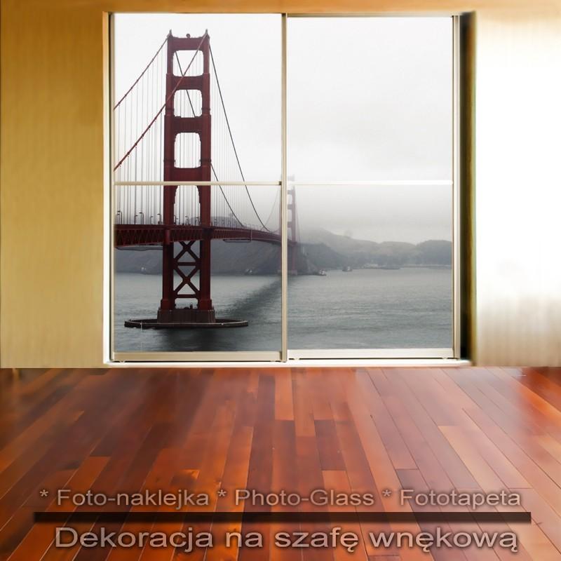 Golden Gate - dekoracja na szafę