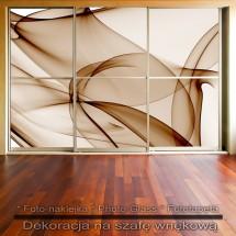 Kawowa inspiracja- dekoracja na szafę