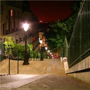 Fototapeta paryskie schody