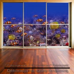 Podwodny Świat - dekoracja na szafę