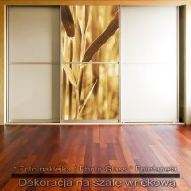 Pozłacana - dekoracja na szafę