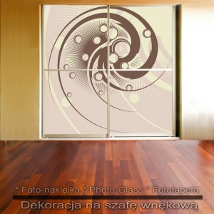 Iglak - dekoracja na szafę