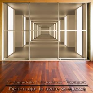 Mega hol - dekoracja na szafę