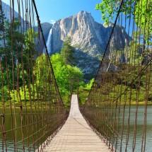 Fototapeta most wiszący